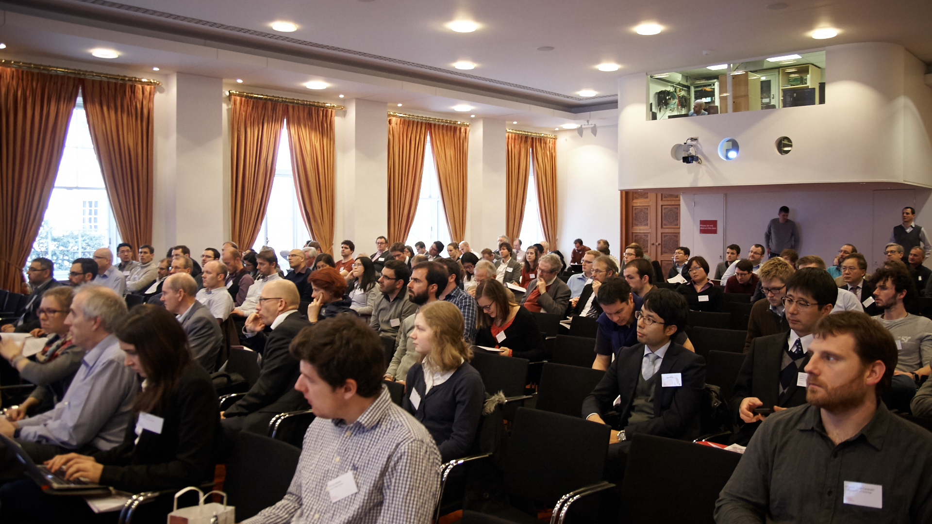 Attendees at the Royal Society Discussion meeting 'The challenges of hydrogen and metals', Jan 2017